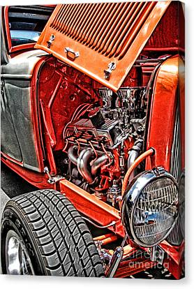 Canvas Print featuring the photograph Hot Rod by Joe Finney