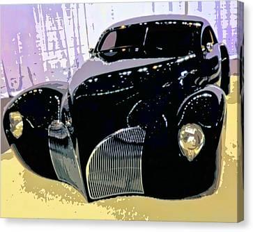 Custom Ford Canvas Print - Hot Rod by Michael Pickett