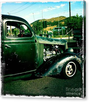 Hot Rod Canvas Print by Nina Prommer