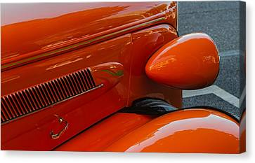 Canvas Print featuring the photograph Hot Rod Orange by Ken Stanback