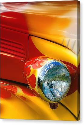 Canvas Print featuring the digital art Hot Rod Rgb 01 by Kevin Chippindall