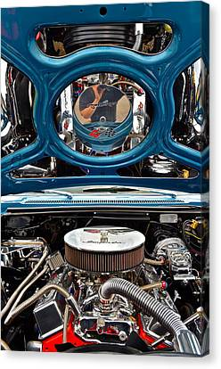 Hot Rod Canvas Print by Frozen in Time Fine Art Photography