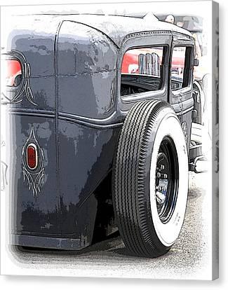 Hot Rods Forever Canvas Print by Steve McKinzie