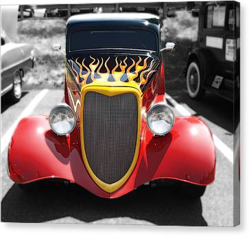 Canvas Print featuring the photograph Hot Wheels   by Raymond Earley