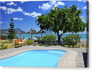 Hotel Dream - Mauritius Canvas Print by JH Photo Service