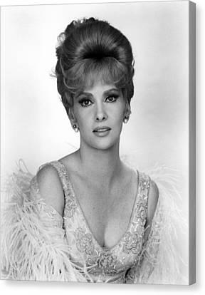 1960s Hairstyles Canvas Print - Hotel Paradiso, Gina Lollobrigida, 1966 by Everett