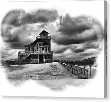 House At The End Of The Road Canvas Print by Gordon Engebretson