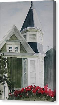 House In San Francisco Canvas Print