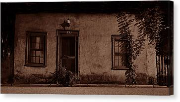 Saint Agustine Canvas Print - House Of Coquina by David Lee Thompson