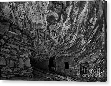 House Of Fire Canvas Print by Keith Kapple