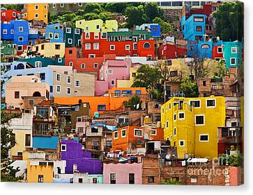 Canvas Print featuring the photograph House Of Guanajuato - Mexico by Craig Lovell