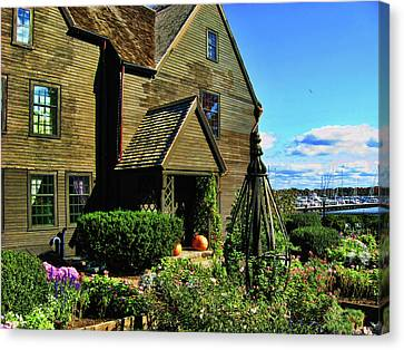 House Of The Seven Gables Canvas Print
