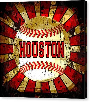 Houston Canvas Print by David G Paul