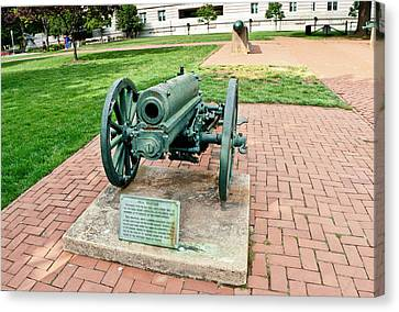 Canvas Print featuring the photograph Howitzer by Marianne Campolongo