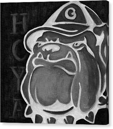 Hoya Jackbw2 Canvas Print by Leslie Rock
