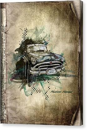 Hudson Hornet Canvas Print by Svetlana Sewell