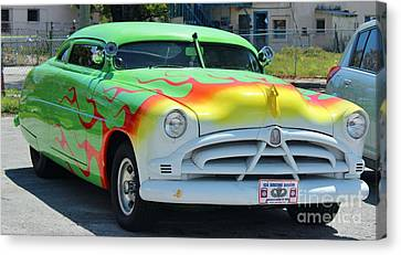 Hudson Low Rider Roadster Canvas Print by Rene Triay Photography
