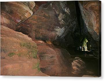 Huge Musky Cave Canvas Print by Richard Gregurich