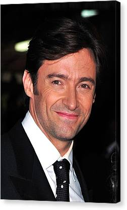Hugh Jackman At Arrivals For Worldwide Canvas Print by Everett