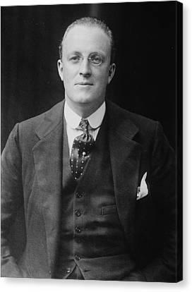 Hugh Walpole 1884-1941, New Zealand Canvas Print by Everett