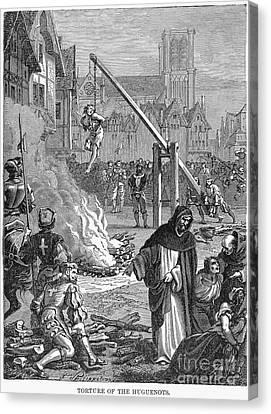 Huguenots: Persecution Canvas Print by Granger