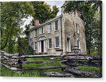 Hull House 1810 Canvas Print by Peter Chilelli