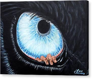 Human Irritant Canvas Print by Chris Law