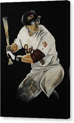 Hunter Pence 2 Canvas Print by Leo Artist