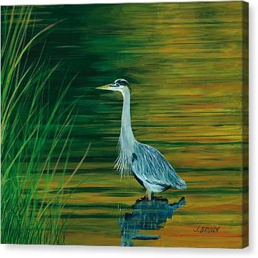 Hunting At Sunrise Canvas Print