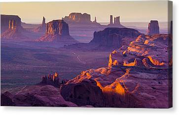Hunt's Mesa Canvas Print by Francesco Riccardo  Iacomino