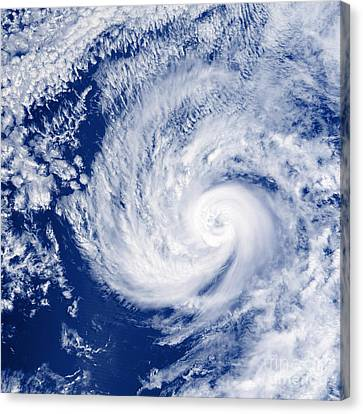 Hurricane Cosme Canvas Print by Science Source