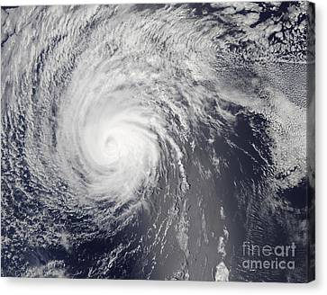 Hurricane Felicia Canvas Print by Stocktrek Images