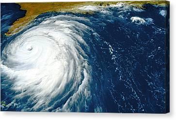 Hurricane Floyd Canvas Print