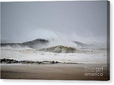 Hurricane Sandy 02 Canvas Print