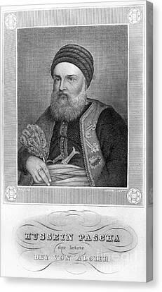 Hussein Dey (1765-1838) Canvas Print by Granger