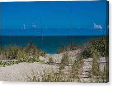 Fort Pierce Canvas Print - Hutchinson Island Heaven by Trish Tritz