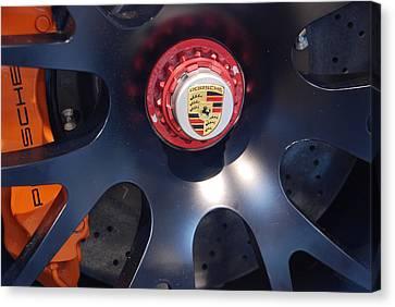 Canvas Print featuring the photograph Hybrid Wheel by John Schneider