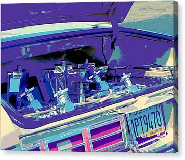 Hydraulics Three Canvas Print