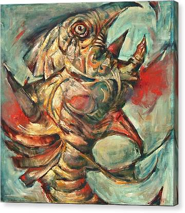 I Am The Fish Canvas Print by Jose  Lopes