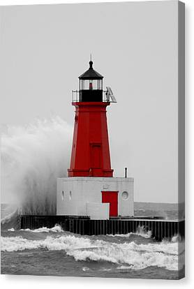 I Can Weather The Storm Canvas Print