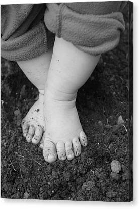 Canvas Print featuring the photograph I Feel The Earth...move...under My Feet by Elizabeth  Sullivan