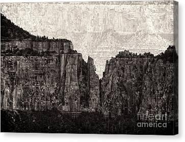 I Have Climbed  A Mountain Canvas Print by Venura Herath