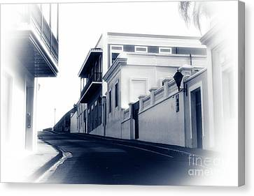 I Walk Alone Canvas Print by John Rizzuto