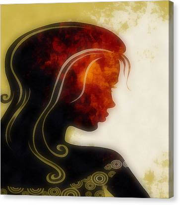 I Walked Away 1 Canvas Print by Angelina Vick