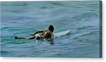 I Wish They All Could Be California Girls Canvas Print by Joan Longas