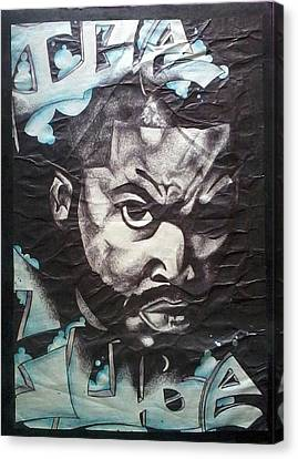 Ice Cube Canvas Print by Abby Williams