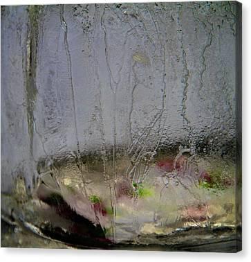 Ice Canvas Print by Odd Jeppesen