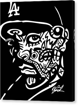 Ice-t Canvas Print by Kamoni Khem