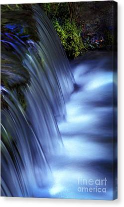 Ice Water Blue Canvas Print
