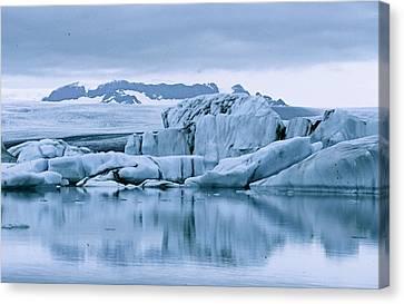 Iceland Canvas Print by Dehling Gerhard